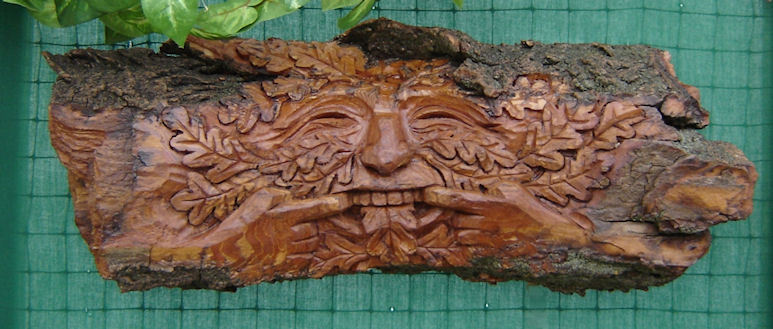 Greenman with an Attitude